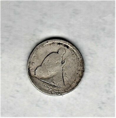 Very Scarce 1875S 20 Cent Coin  1,155,000 Mintage-