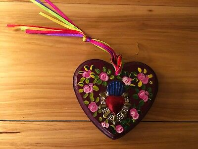 Hand-Crafted Heart from Mexico City