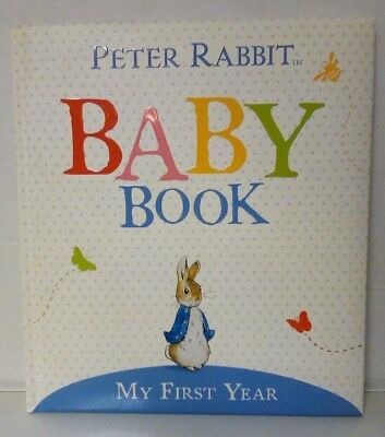Peter Rabbit Baby Book:  My First Year