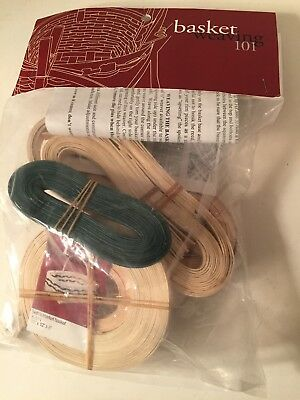 I Made Basket Weaving 101 Kit Market Basket 1 qt NIP K511 Unopened NEW