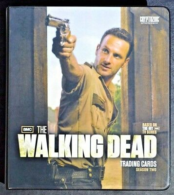 Walking Dead Season 2 Master Set VARIANTS Binder Autograph Auto Trading Cards