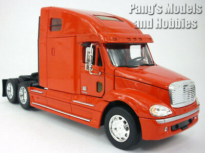 FREIGHTLINER COLUMBIA EXTENDED Cab 1/32 Scale Truck Diecast Model - RED