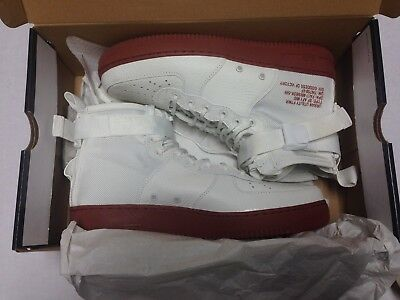 best service 8503f 4ed78 Nike SF AF1 MID Air Force 1 Special Forces Ivory Mars Stone 917753-100