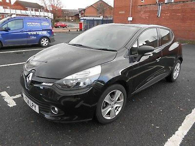 2014 RENAULT CLIO EXPRESSION 1.2 16v 5 DOOR IN BLACK WITH ONLY 35K MILES