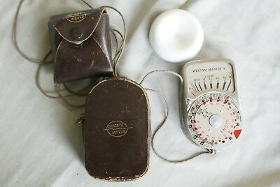 Weston master light meter and instruction booklet