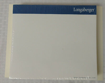"9"" x 8"" Longaberger Paper Mouse Pads - Set of 6 - New Sealed"