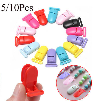 Toy Nipple Clasps Craft Dummy Holder Soother Chain Baby Teethers Pacifier Clip