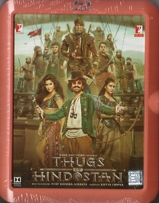 Thugs Of Hindostan *Aamir Khan* - Original Bollywood Blu-Ray [Hindustan]