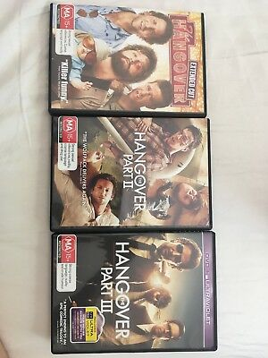 The Hangover Trilogy (DVD, 2014, 3-Disc Set)