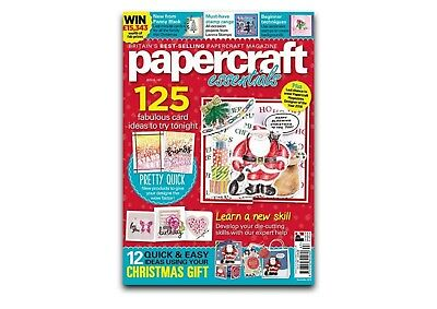 Papercraft Essentials Issue 167 + FREE GIFT - NEW & UNOPENED