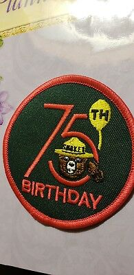.....Smokey's 75th BIRTHDAY PATCH  LISTING SPECIAL.