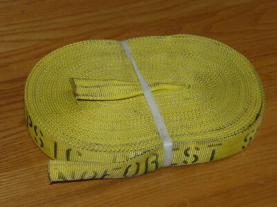 """46' Feet Fire Hose 1"""" FLAT (no couplings) No Forest Service Test - Canada Made"""