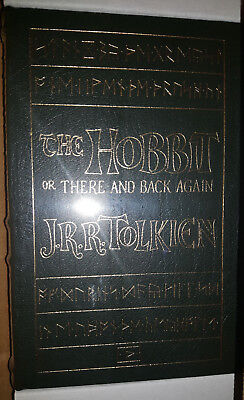 NEW SEALED The Hobbit by J.R.R.Tolkien Easton Press Leather Hardcover Lord Rings