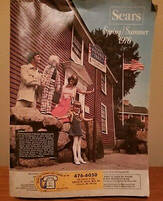 1976 Sears Catalog Spring & Summer   1396 pages