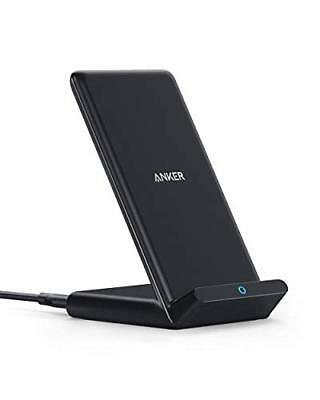 Anker Fast Wireless Charger, 10W Qi Wireless Charging Stand for iPhone Samsung