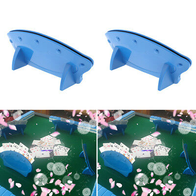 2pcs Hand Free Playing Card Holder For Elderly Adults Disabled