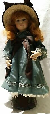 Hillview Lane vintage porcelain doll-Brodie,  collector's item