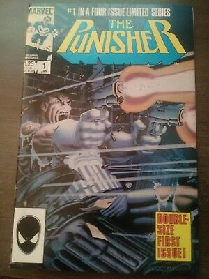 The Punisher Limited Series 1986 Jan 1st Issue / Beautiful UNREAD Copy