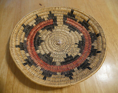 Traditional NAVAJO Wedding Basket c. 1980s, 11""