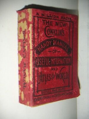 Conklin's The New Handy Manual of Useful Information & Atlas of the World 1905