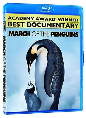 MARCH OF THE PENGUINS (Blu-ray 2012) NEW, SEALED