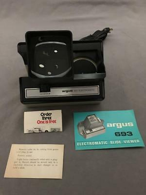 Vintage Argus 693 Electromatic Slide Viewer NOS New Old Stock  - Free Shipping!