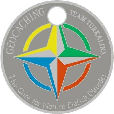 Pathtag  25004  -   Compass Rose   -geocaching/geocoin/Extagz alt. *Retired*