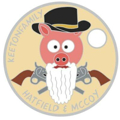 Pathtag  26810  -   Hatfield  &  McCoy  -geocaching/geocoin/Extagz alt *Retired*