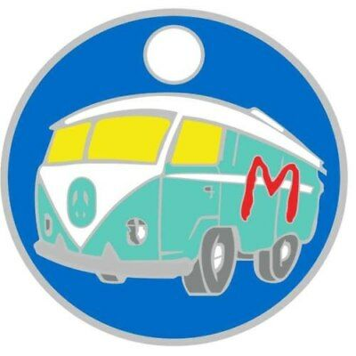 Pathtag  23697 - VW  Bus -geocaching/geocoin/Extagz *Retired- Hidden in Gallery*
