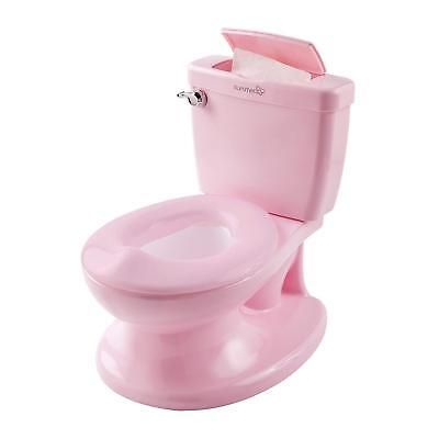 Summer Infant My Size Potty-Pink-Training Toilet-Toddler Girls w/Flushing Sounds