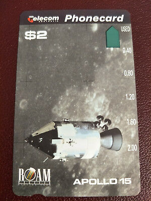 Mint $2 Apollo 15 Phonecard Prefix 667