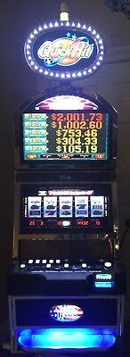 "💥 On Sale 💥 Bally Alpha S9000 Quick Hit ""Stars And Bars"" Slot Machine 5 Reels"