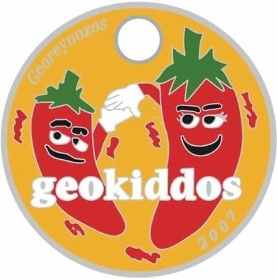 Pathtag   5319 - Chili Peppers -geocaching/geocoin/ *Retired- Hidden in Gallery*