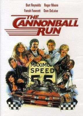 THE CANNONBALL RUN ON DVD RARE BURT REYNOLDS Like New