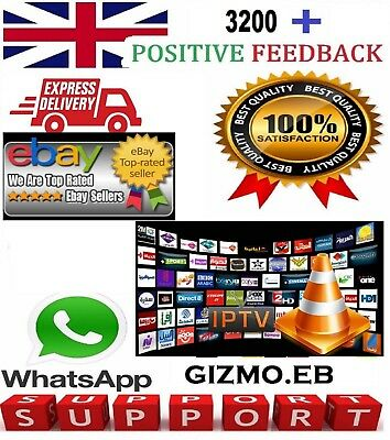 12 Month IPTV Warranty Support - UK, MAG, Android, IOS, SmartTV STB - RRP £69