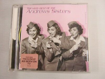 CD Music Album THE VERY BEST OF THE ANDREWS SISTERS (35)