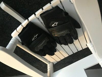 Alpinestars Motorbike Gloves  size M with Armour
