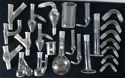 Laboratory Glassware Lab Glass Collectable Science Medical Chemistry Lot #1