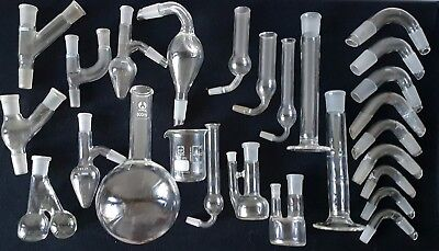 Laboratory Glassware Lab Glass Collectable Science Medical Chemistry Lot #2