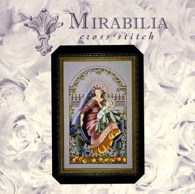 OOP Mirabilia Cross Stitch chart MD79 Madonna of the Garden