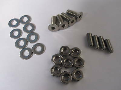 Classic Austin Rover Mini Stainless Steel Boot Hinge Fitting Kit