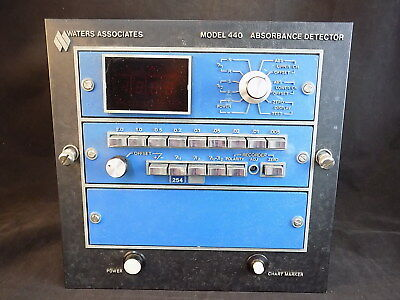 ABSORBANCE DETECTOR Model 440 Waters Associates UNTESTED