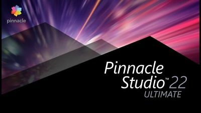 Pinnacle studio ultimate 22 (x64) - MULTILINGUAL- FAST E-DELIVERY