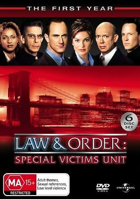 Law And Order SVU - Special Victims Unit : Season 1 DVD : NEW