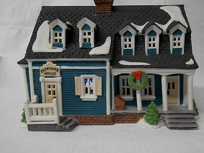 "REDUCED! Department 56 - New England Village ""Berkshire House"" circa 1989."