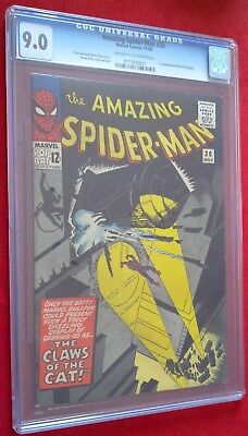 Amazing Spider-Man #30 CGC 9.0 rar und top 1st Cat Burglar