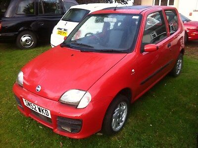 Fiat seicento 1108cc, with history, Full years mot & Fully serviced low miles