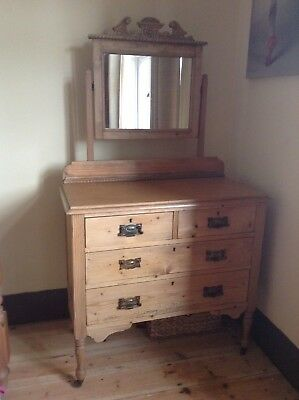 Sandalwood Childs antique dressing table