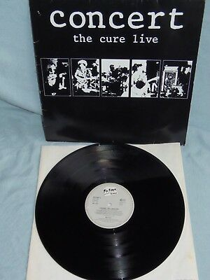 """The Cure - Concert LIVE - 12"""" Vinyl Album 1984 Made in Germany"""