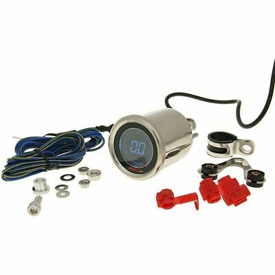 Motorroller Drehzahl-Messer Koso DL-01R D48 Black LCD rev counter